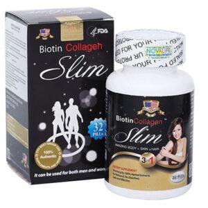 Thuốc Biotin Collagen Slim giá bao nhiêu mua thuốc ở đâu
