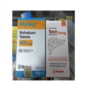 Thuốc Myhep Tasvir điều trị viêm gan C, giá bán, mua ở đâu chính hãng