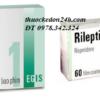 Thuốc Rileptid Risperidone 1mg 2mg là thuốc gì? giá thuốc bao nhiêu