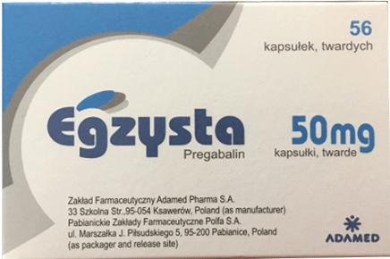 Thuốc Egzysta 50mg là thuốc gì? Tác dụng các dùng giá bán bao nhiêu?