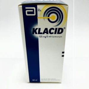 Thuốc Klacid 125mg/5ml giá bao nhiêu mua thuốc ở đâu