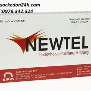 Thuốc Newtel 300mg điều trị viêm gan B giá bao nhiêu? mua ở đâu?