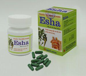 Thuốc trị viêm xoang Esha mua ở đâu, giá thuốc bao nhiêu?