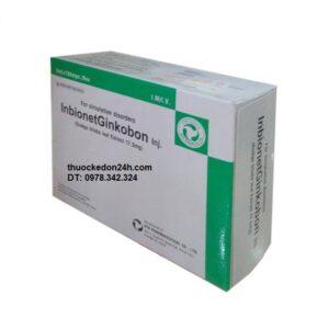 Thuốc Inbionet Ginkobon giá thuốc bao nhiêu mua thuốc ở đâu uy tín