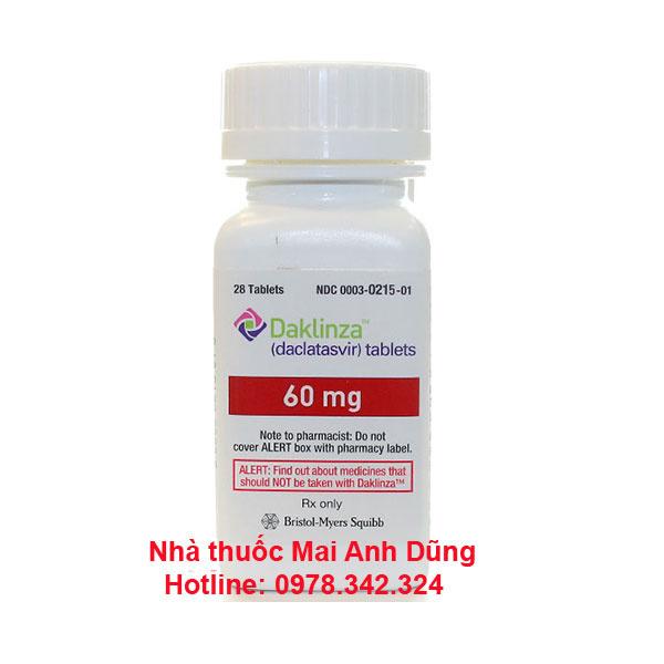 Thuốc Daklinza là thuốc gì? Tác dụng cách dùng giá bán