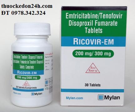thuốc Ricovir-em giá bao nhiêu, mua thuốc ở đâu, giá thuốc chính hãng, xách tay