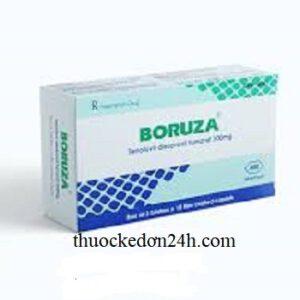Thuốc Boruza 300mg là thuốc gì? Tác dụng giá bán thuốc bao nhiêu?