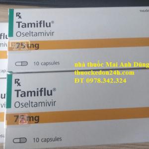 Thuốc Tamiflu 75mg cho trẻ em, Tác dụng liều dùng, giá bán bao nhiêu?