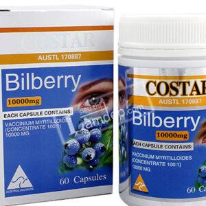 Thuốc Bilbery Costar 10000mg hộp 60 viên giá bao nhiêu