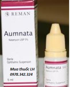Thuốc nhỏ mắt Aumnata (Natamycin) mua ở đâu? giá bán bao nhiêu