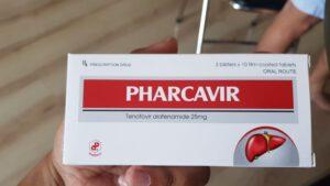 Thuốc Pharcavir 25mg