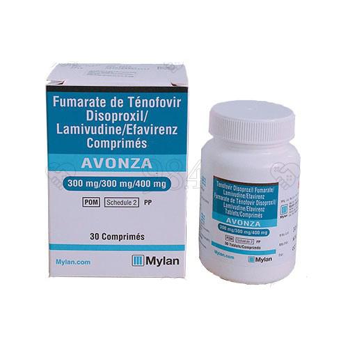 Thuốc avonza của mylan