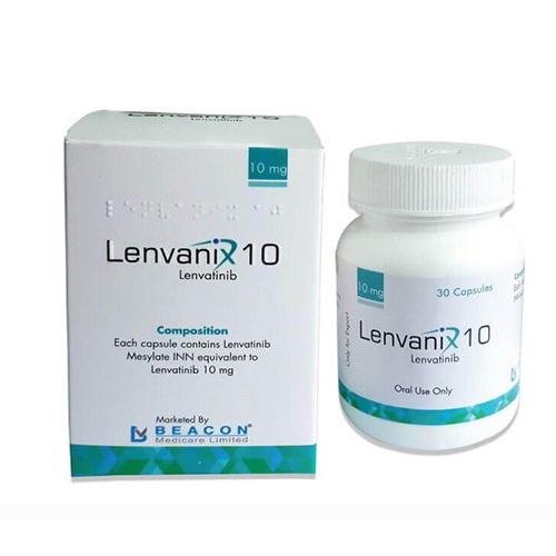Thuốc Lenvanix 10mg là thuốc gì? Tác dụng. giá thuốc bao nhiêu?