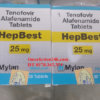 Thuốc Hepbest 25mg nhập khẩu