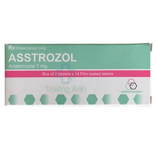 Thuốc asstrozol 1mg tay ban nha gia bao nhiêu