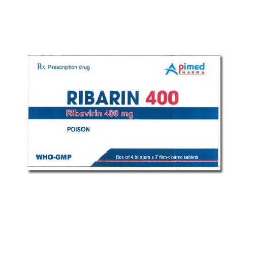 thuốc ribarin 400mg ribavirin giá bao nhiêu mua ở đâu